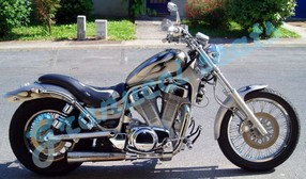 Suzuki Intruder VS 1400 Chopper Sitzbank Granucci Seats