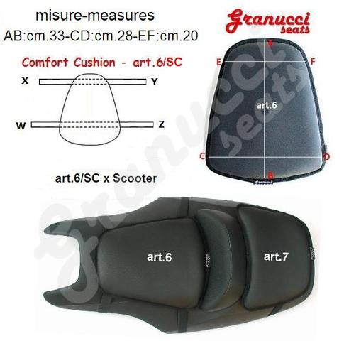 modelli cuscini comfort per selle moto motorcycle seats. Black Bedroom Furniture Sets. Home Design Ideas