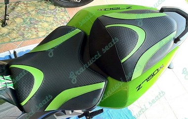 Kawasaki selle comfort e rivestimenti seat covers housse for Housse moto custom